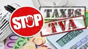 TVA sur les taxes : stop à la double-peine fiscale !