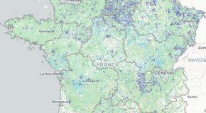 Fournisseur d'accès à Internet : une carte pour connaître les débits près de chez soi